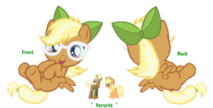 Trenderhoof + Applejack Ship Adopt (Sold!) by Owl-Parchment
