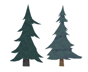 Evergreens by TwistedGale