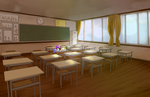 Level design classroom by Qu-Ross