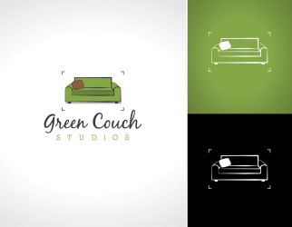 Green Couch logo by cpenree