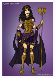 Request - Queen Hippolyta Redesign by Femmes-Fatales