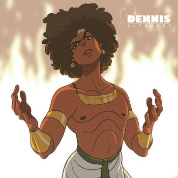 Young Imhotep by David-Dennis