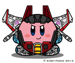 Kirbyformers 3: Starscream (G1) by Kirby-Force