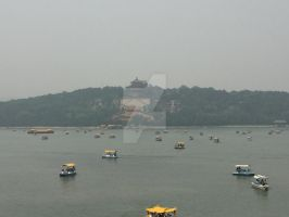 Palace across Kunming Lake by CanadaCowboy