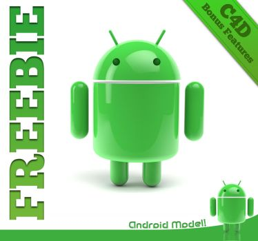Freebie: Android model by The3DLeopard