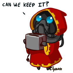Cuteptus Mechanicus by Elycann
