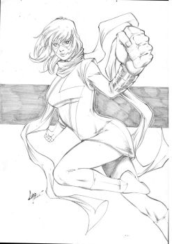 Ms. Marvel by CaioMarcus-ART