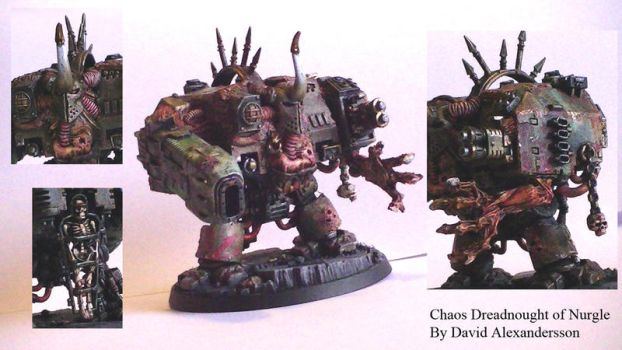 Nurgle Dreadnought by Tiwyll