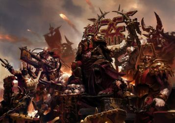 Battletome : Khorne Bloodbound by JiHunLee
