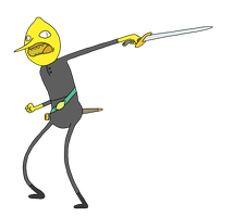 The Earl of Lemongrab by Goblin-Vomit