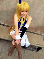 Lucy Heartfilia cosplay one year timeskip by LoloHime