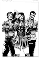 Army of Darkness vs Xena by FabianoNeves