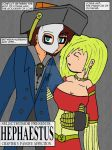 Hephaestus: Ch03-Cover by Selecthumor
