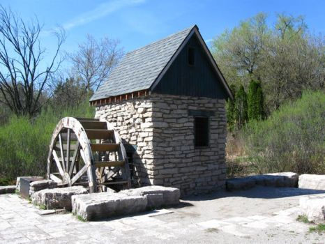 Old Mill - Back by MapleRose-stock