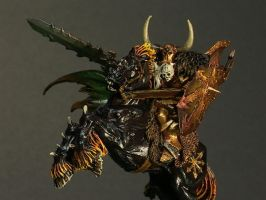 Archaon Close-Up by ShadowWalkerInc