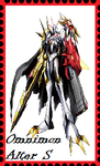 Omnimon Alter S Stamp by WOLFBLADE111