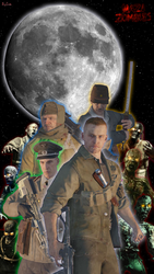 NZ:The Damned Moon Life One X3 Wallpaper by Josael281999