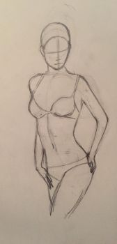 Female body study by LeahStars8
