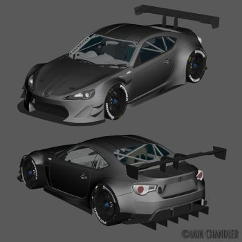 Toyota GT86 FIA-GT3 WIP1 by The-IC