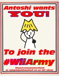 #WiiArmy Poster by Mahboison