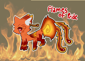 Flames of Pride: Inferno - (CLOSED) by lucky-be-me