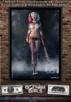 Harley Quinn, Gotham Girls Comic Series, Evolution by PaulSuttonArt