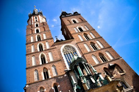 Krakow center by dianora