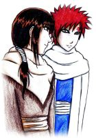 Gaara x Zora for my Frau by KikoBuntstift