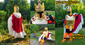 King Knight Cosplay 2016 by KingRebecca