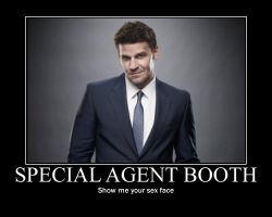 Agent Booth Sexface by remijones