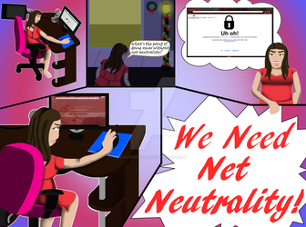 Xmas Is Nothing Without Net Neutrality by fluffy11cat