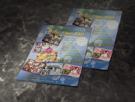 A5 Single One Side Flyer Mock Up by ambdesignsph