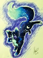 Galaxy Floof by JeansLily