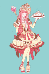 Princess Lolita Bubblegum by vexfay