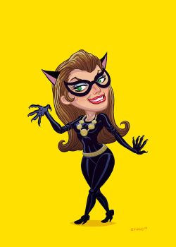 60s Cat Woman by Forty-Nine