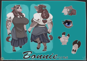 Bonnie Reference Sheet by atryl