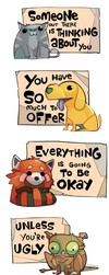 Cheer Up Critters by michaelfirman