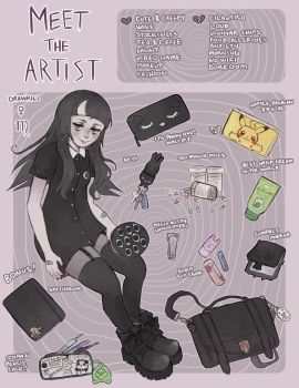 Meet The Artist V2 by DrawKill