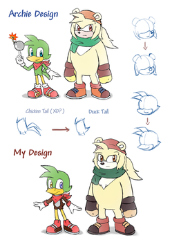 -STH Bean and Bark redesign- by Biko97