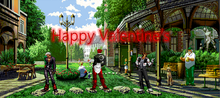 KOF - My team in Valentine's day by masterelite997