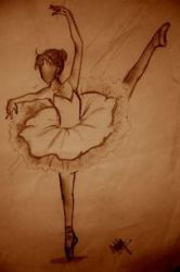 classical ballerina by carbonaper