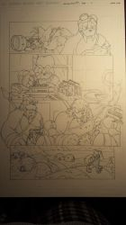 sonic comic origins rotor pencils pg2 by trunks24