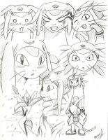 Meow Sketchdump by PDJ004
