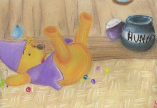 Pastel Pooh by Pepseh-chan