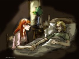Ginny and Draco for Betz's by usagistu