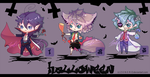 Halloween Chibi Adoptables ~ [CLOSE ] by Z-E-N-E-R-O