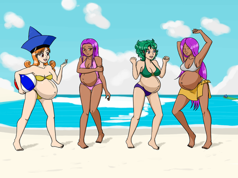 COMM: Dragon Quest For Sunscreen by HidonRedux