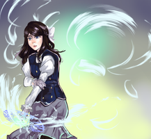 Icey Flame - RWBY OC by KatharineArt
