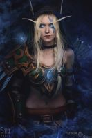 Alleria Windrunner - 2 by Feyische
