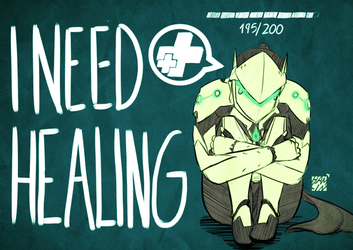 I need healing by hamlinfly